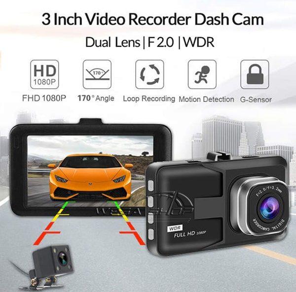دوربین دی وی آر خودرو دو لنز مدل L7D