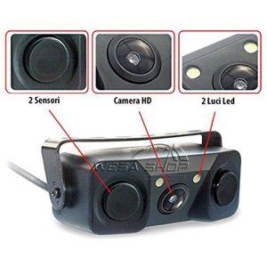 سنسور دنده عقب با دوربین
