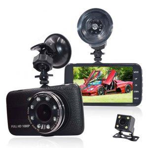دوربین دی وی آر خودرو دو لنز مدل H17