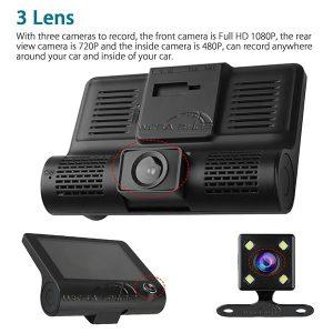 دوربین خودرو سه لنز