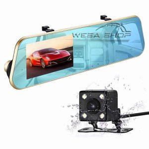 آینه مانیتور خودرو دو دوربین