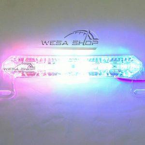 چراغ پلیسی شیشه مشجر