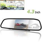 آینه مانیتوردار 4.3 اینچ