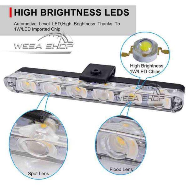 چراغ پلیسی فلشر 6 LED